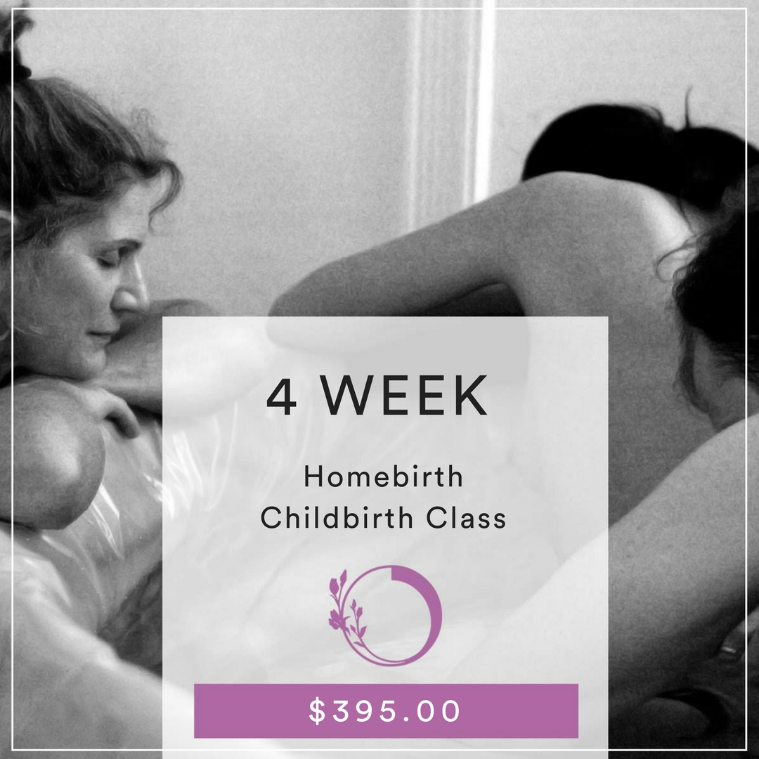 4-week childbirth class homebirth
