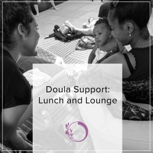 Birth Worker support lunch & lounge for NYC doulas is now Virtual! Bring your own snacks, food, or whatever!