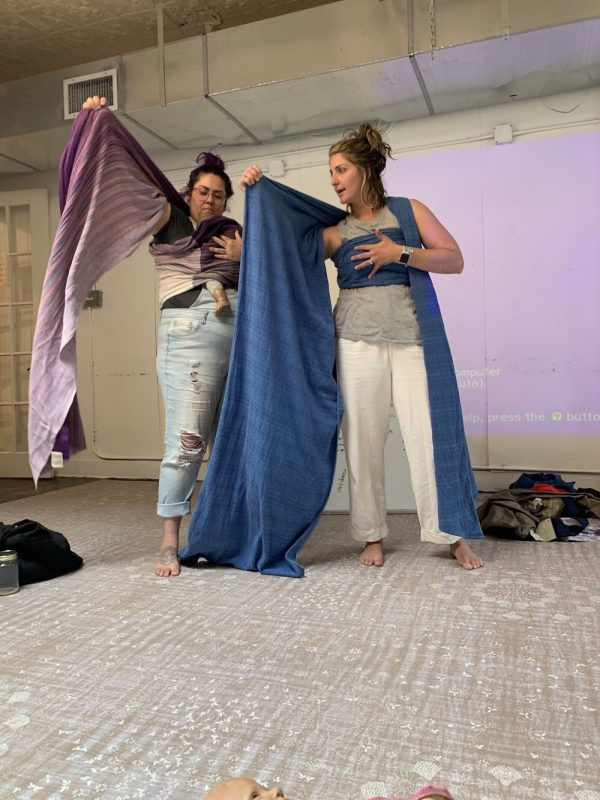 BDP Birth Day Presence Class Babywearing for Birthworkers